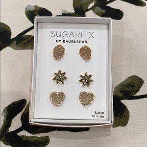 2/$20 Brand new Sugarfix 3 pairs earrings